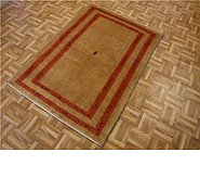 Link to 3' 6 x 4' 11 Kashkuli Gabbeh Persian Rug