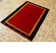 Link to 3' 8 x 5' 3 Kashkuli Gabbeh Persian Rug