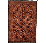 Link to 7' 1 x 9' 7 Afghan Ersari Oriental Rug