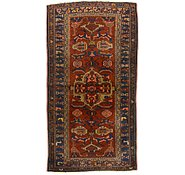 Link to 3' 6 x 6' 5 Hamedan Persian Rug