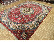 Link to 8' 2 x 11' 1 Tabriz Persian Rug