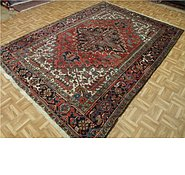 Link to 6' 9 x 9' 5 Heriz Persian Rug
