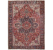 Link to 8' 11 x 11' 10 Heriz Persian Rug