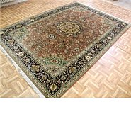Link to 6' 11 x 9' 6 Tabriz Persian Rug