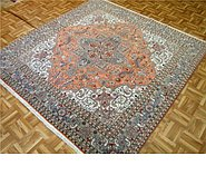 Link to 6' 7 x 6' 10 Tabriz Persian Square Rug