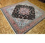 Link to 6' 8 x 7' Tabriz Persian Square Rug