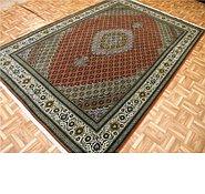 Link to 6' 11 x 10' Tabriz Persian Rug