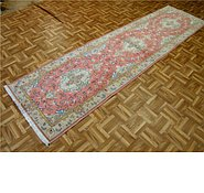 Link to 2' 8 x 10' 4 Tabriz Persian Runner Rug