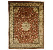 Link to 9' 7 x 12' 7 Sarough Persian Rug