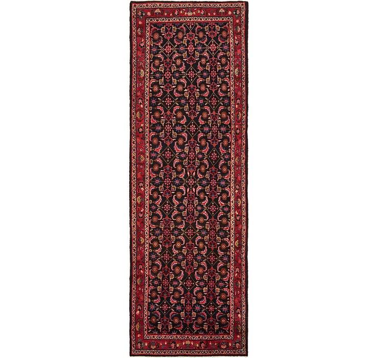 3' 7 x 11' 2 Hossainabad Persian Run...