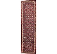 Link to 3' 10 x 12' 10 Hossainabad Persian Runner Rug