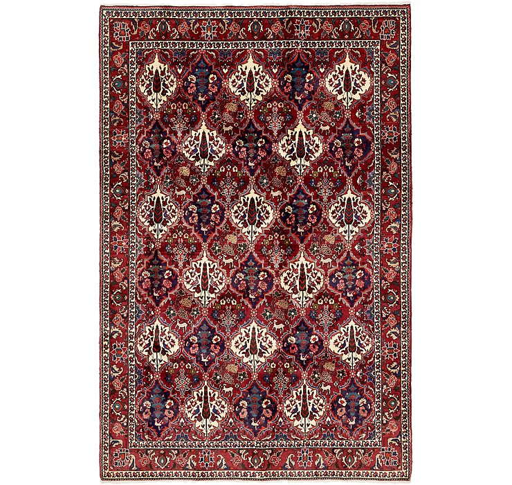 6' 7 x 10' 4 Bakhtiar Persian Rug