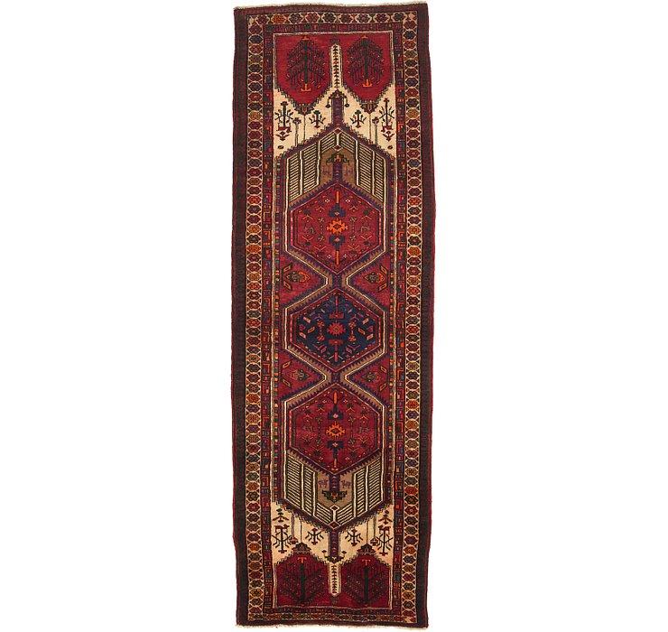 HandKnotted 3' 8 x 11' Meshkin Persian Runner ...