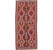 Link to 4' 1 x 9' 2 Shiraz Persian Runner Rug