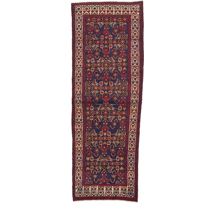 HandKnotted 3' 6 x 9' 9 Malayer Persian Runner ...
