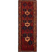 Link to 4' 5 x 12' Shiraz-Lori Persian Runner Rug
