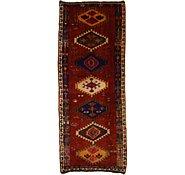 Link to 4' 9 x 11' 11 Shiraz-Lori Persian Runner Rug
