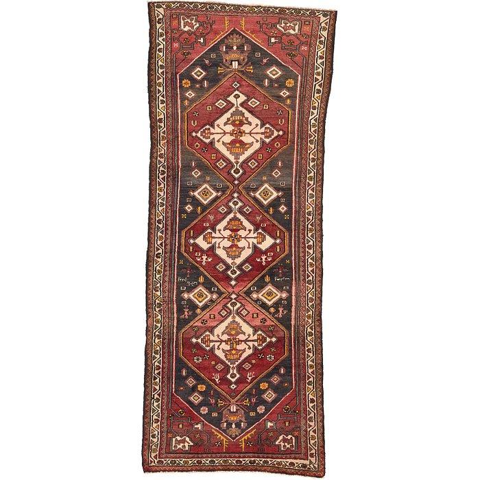 3' 7 x 9' Zanjan Persian Runner Rug