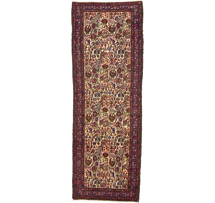 3' 6 x 9' 8 Roodbar Persian Runner ...