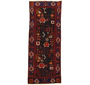 Link to 3' 7 x 9' 1 Hamedan Persian Runner Rug
