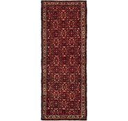 Link to 115cm x 310cm Hossainabad Persian Runner Rug
