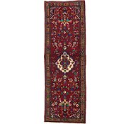 Link to 3' 9 x 10' 9 Hamedan Persian Runner Rug