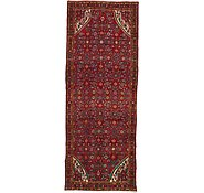 Link to 3' 6 x 9' 4 Hossainabad Persian Runner Rug