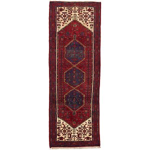 3' 6 x 9' 10 Darjazin Persian Runner...