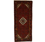 Link to 4' 4 x 9' 10 Hossainabad Persian Runner Rug