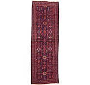 Link to 3' 7 x 10' 9 Hossainabad Persian Runner Rug