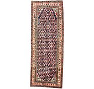 Link to 122cm x 315cm Hossainabad Persian Runner Rug