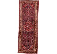 Link to 3' 9 x 9' 11 Hamedan Persian Runner Rug