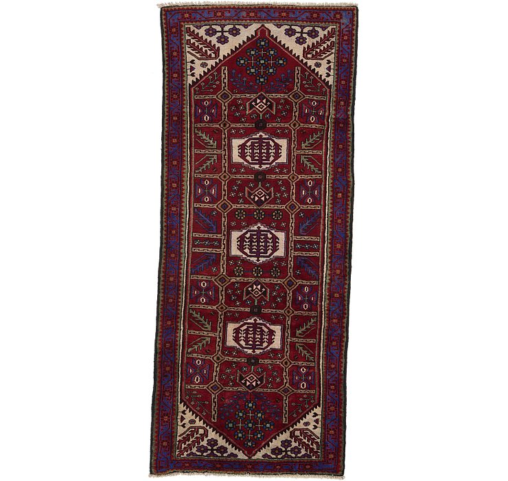 4' 1 x 9' 9 Saveh Persian Runner Rug