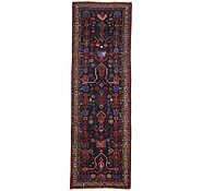 Link to 3' 5 x 10' 5 Roodbar Persian Runner Rug