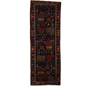 Link to 3' 5 x 9' 5 Roodbar Persian Runner Rug