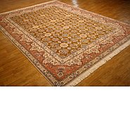 Link to 9' 9 x 13' Nain Persian Rug