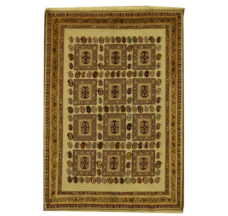 6' 10 x 9' 10 Sirjan Persian Rug
