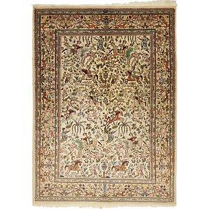 5' 7 x 7' 9 Tabriz Persian Rug