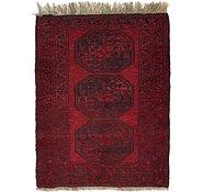 Link to 2' 9 x 3' 7 Afghan Ersari Oriental Rug