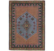 Link to 175cm x 245cm Indo Tabriz Oriental Rug