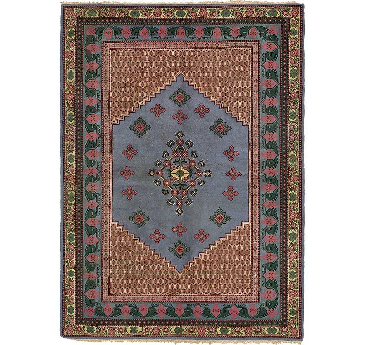 5' 9 x 8' Indo Tabriz Oriental Rug