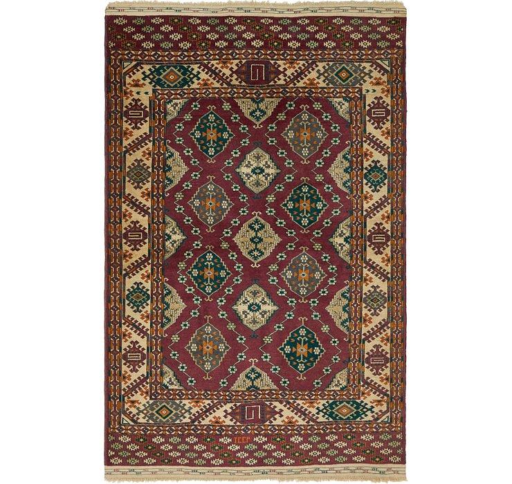 5' x 7' 9 Kazak Oriental Rug