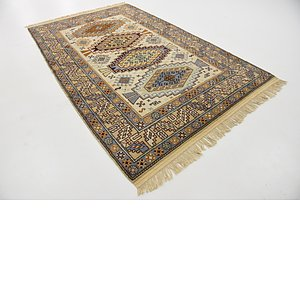 5' 3 x 8' 6 Kazak Oriental Rug