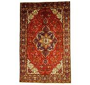 Link to 7' x 11' 2 Tabriz Persian Rug