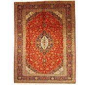 Link to 9' 9 x 13' 1 Kashan Persian Rug