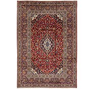 Link to 7' 10 x 11' 2 Kashan Persian Rug