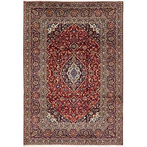 7' 10 x 11' 2 Kashan Persian Rug