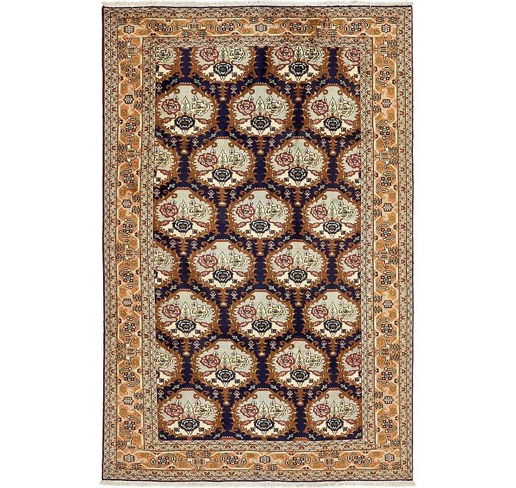 6' 4 x 9' 11 Hamedan Persian Rug