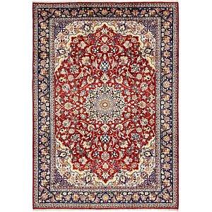 8' 9 x 12' 2 Isfahan Persian Rug