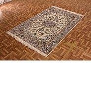 Link to 3' 10 x 5' 11 Nain Persian Rug